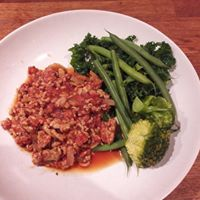 spicy pork mince