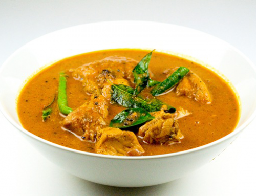 Kelly's Chicken Curry Dish